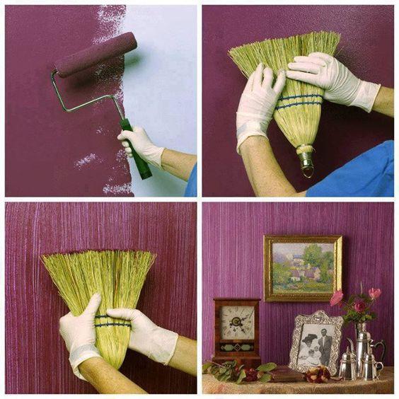 pintar paredes textura