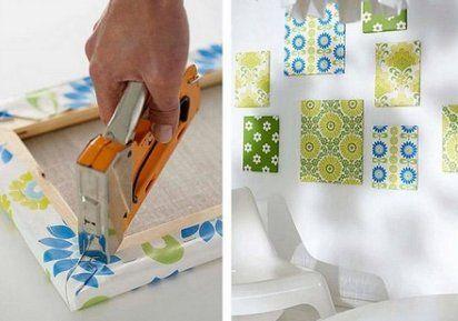 quadros decorativos em tecido