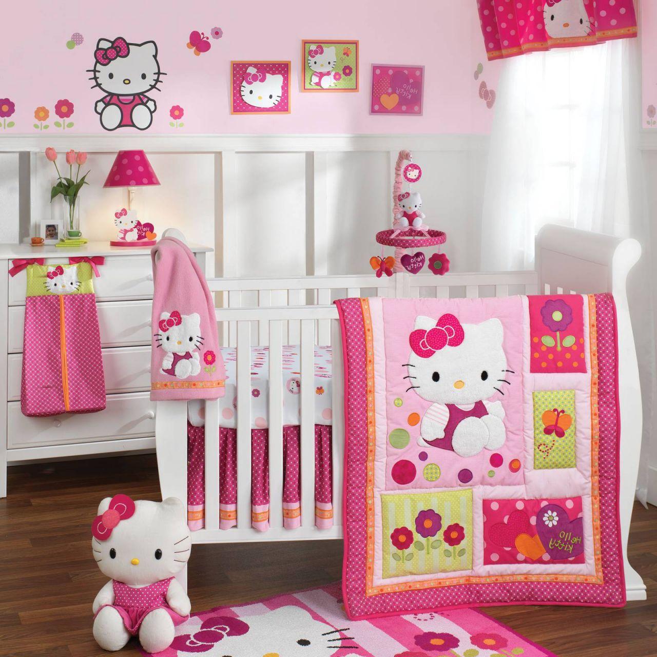 quarto de bebe helo kitty