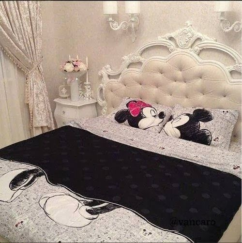 quarto decorado minnie adulto mickey