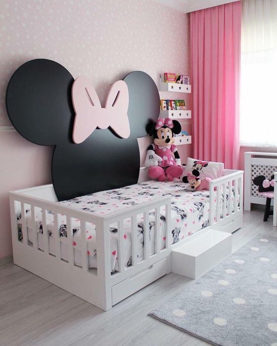 quarto decorado minnie bebe
