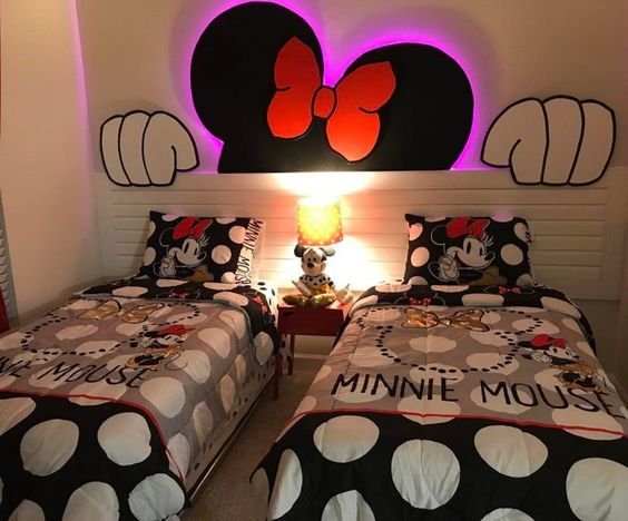 quarto decorado minnie crianca