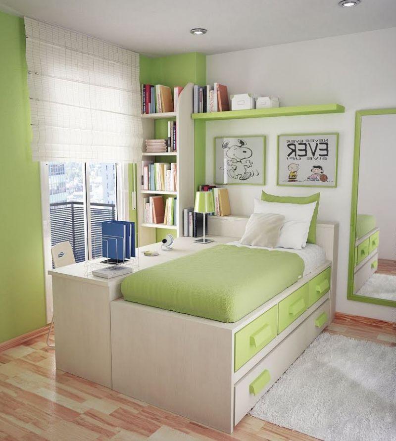 quarto pequeno juvenil