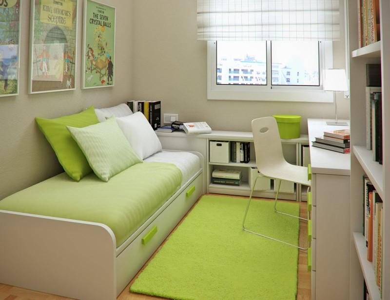 quarto pequeno para adolescentes
