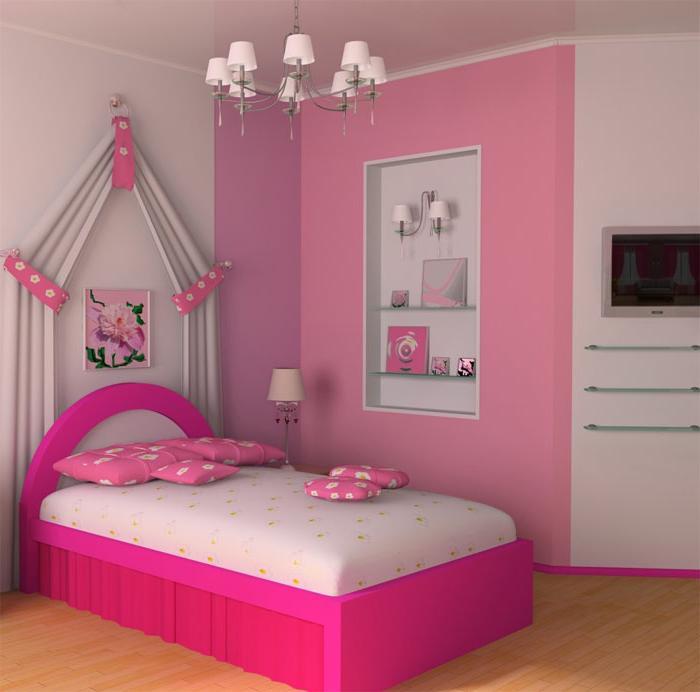 quarto pequeno para menina