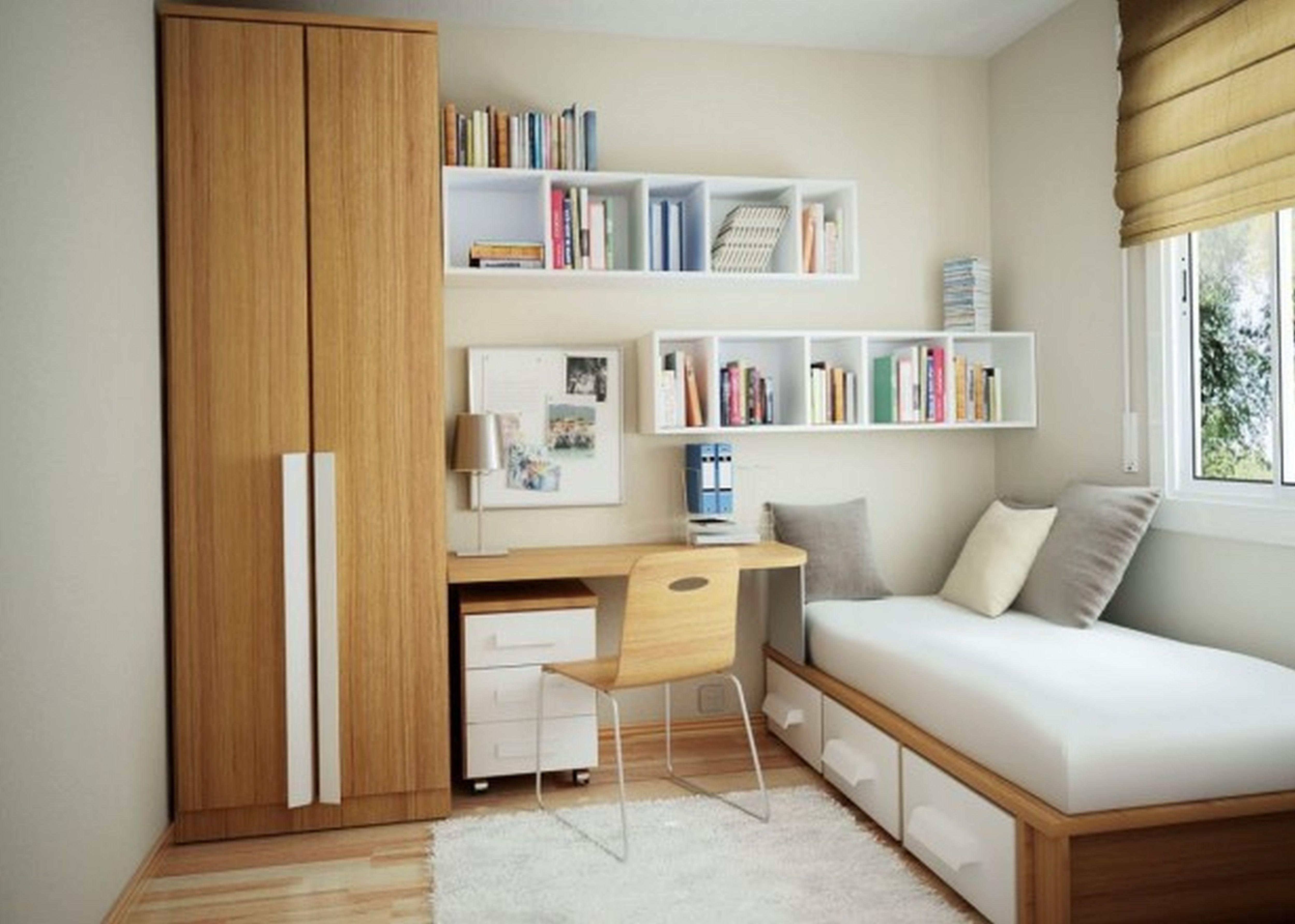 quarto pequeno simples