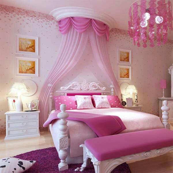 quarto princesa menina rosa