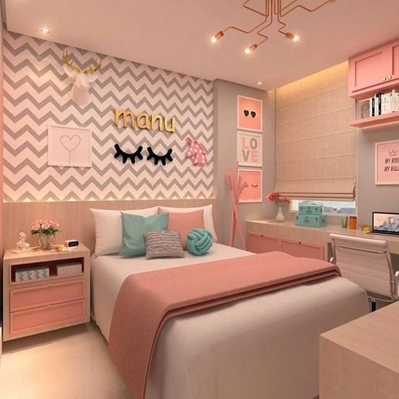 quarto rosa adulto tumblr