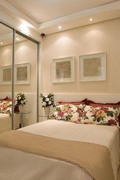 quartos casais pequenos decorados 1