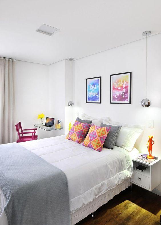 quartos casais pequenos decorados 4