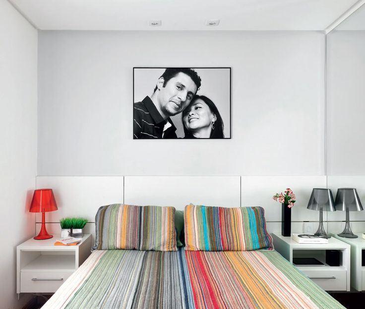 quartos casais pequenos decorados 8