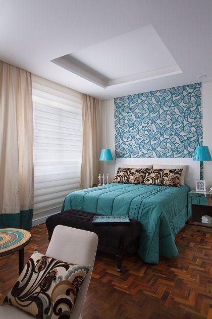 quartos decorados azul turquesa 1