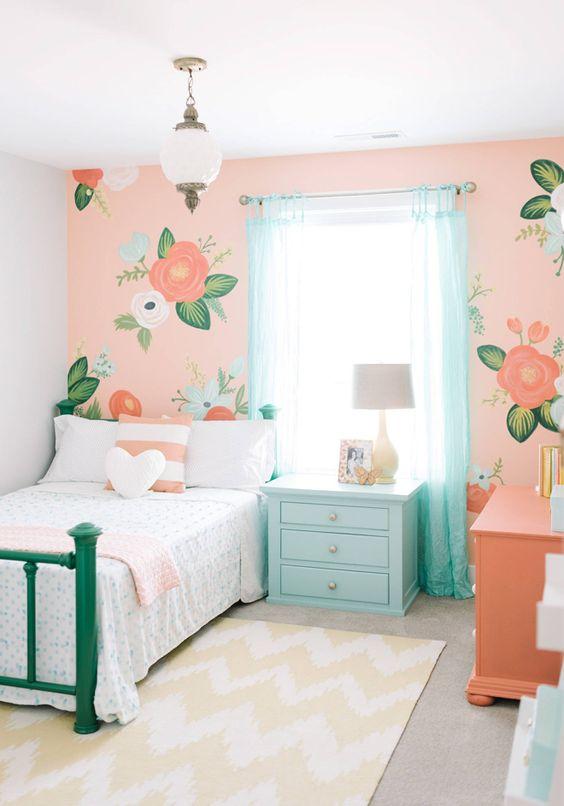 quartos femininos decorados 14