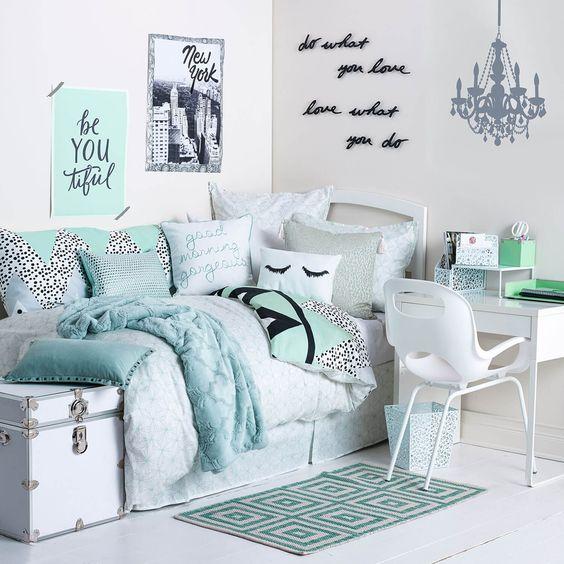quartos femininos decorados 16
