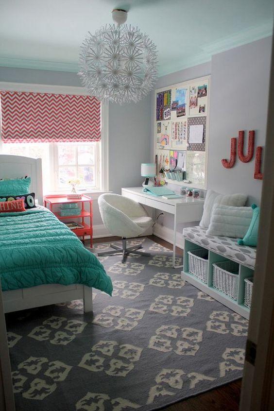 quartos femininos decorados 3