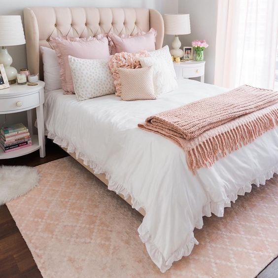 quartos femininos decorados 7