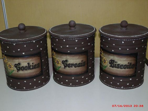 reciclar decorar latas leite 7