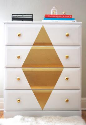 reformar comoda pintura geometrico