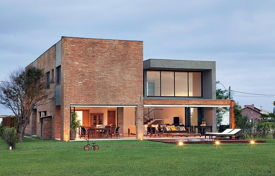 revistimento fachada da casa