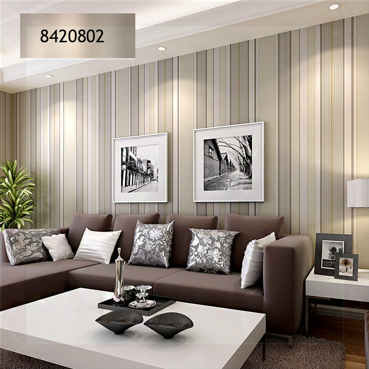 Papel de parede para a sala - Best living room wallpaper designs ...