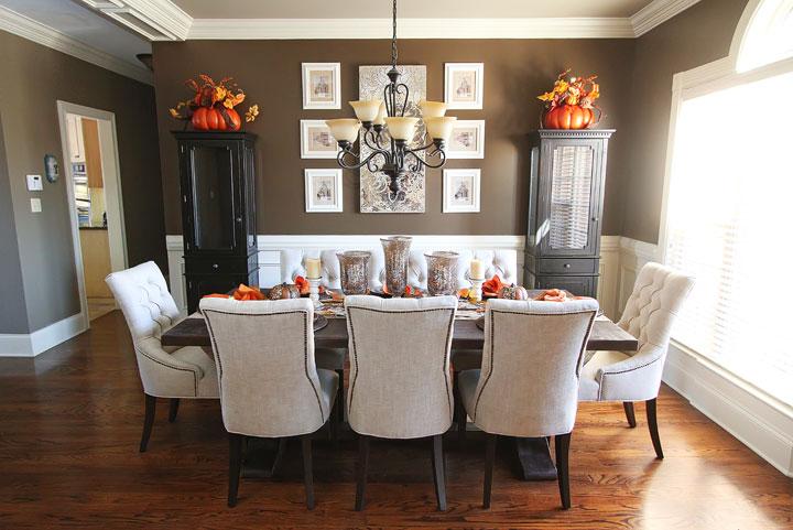 sala de jantar como decora