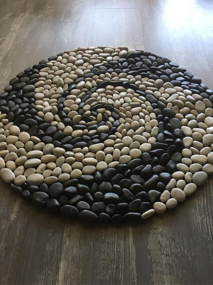 tapetes capacho pedra