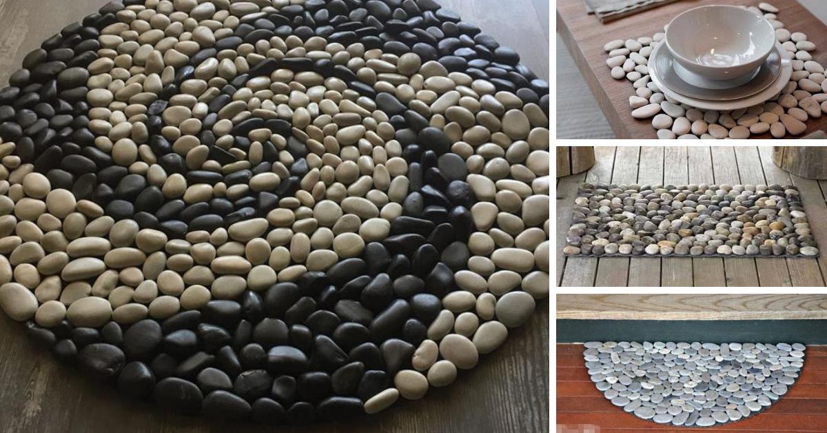 tapetes pedras