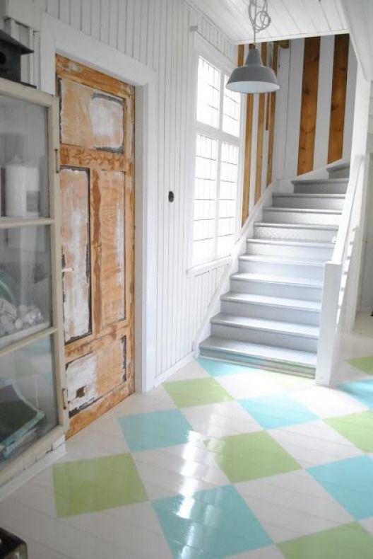 tendencia decoracao piso pintado 1